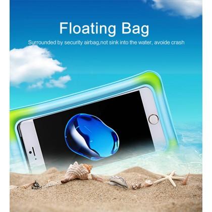 USAMS Waterproof Phone Bag for Phone under 6 inch