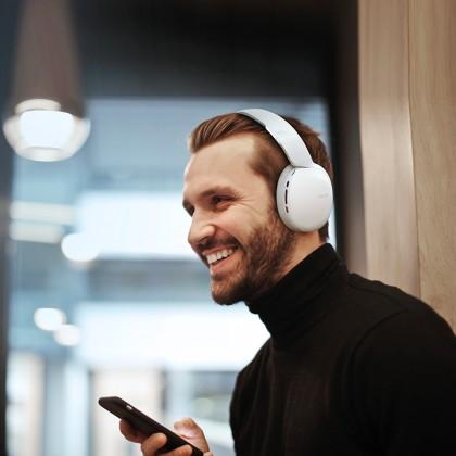Havit Wireless Bluetooth Headset with 3.5mm AUX jack - IX600 [black]