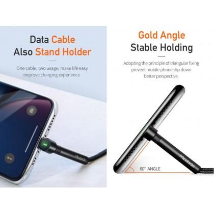 [1 Year Warranty ]Mcdodo Bracket Series Type-C & Lightning Data Cable (CA-6672 / CA-6682)